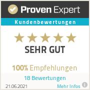 ProvenExpert-Bewertungssiegel-Videoproduktion Darmstadt
